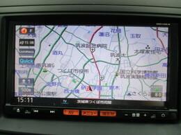 視認性の高いナビです!知らない土地のドライブには欠かせない機能となっております!
