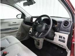 運転もしやすいしっかりとしたシートです!