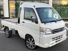 ダイハツ ハイゼットトラック 660 ジャンボ 3方開 4WD 5MT  パワステ エアコン ワンオーナー
