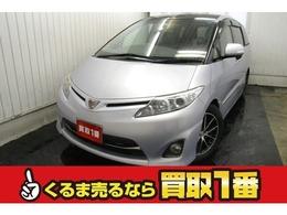 トヨタ エスティマ 2.4 アエラス 4WD サンルーフ TEIN車高調 9型ナビ スターター