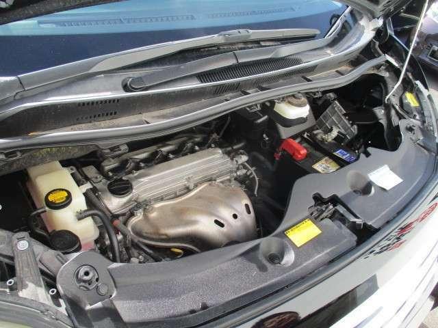 タイミングチェーン仕様のエンジンで10万キロごとの交換不要で、維持も経済的です!