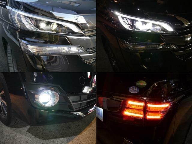 煌びやかな光オートレべリング付LEDライト&フォグライト・LEDコーナリングライト・オートマチックハイビーム