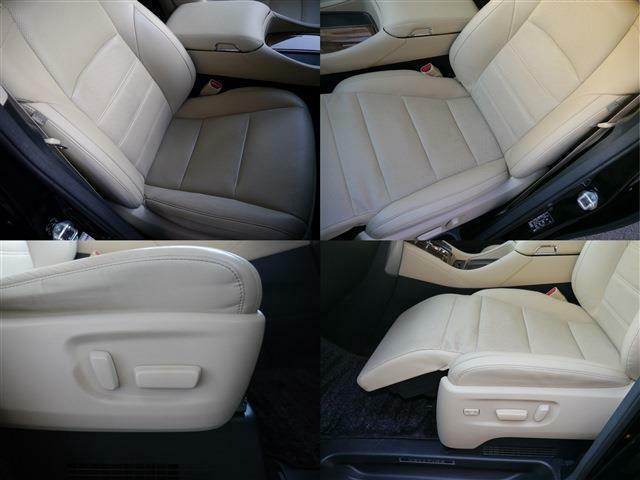 運転席&助手席メモリー付きパワーシート・シートベンチレーション&温熱シート・助手席パワーオットマン・使用頻度の多いフロントシート左右も御覧のようにキレイです!