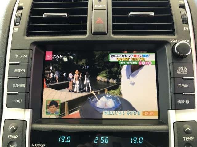 純正HDDナビ・DVD・ミュージックサーバー・バックモニター付きです。