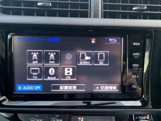 Bluetooth、フルセグチューナー搭載の純正カーナビ(`・ω・´)