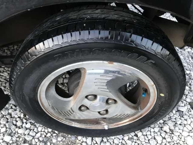 とってもきれいなタイヤでございます!