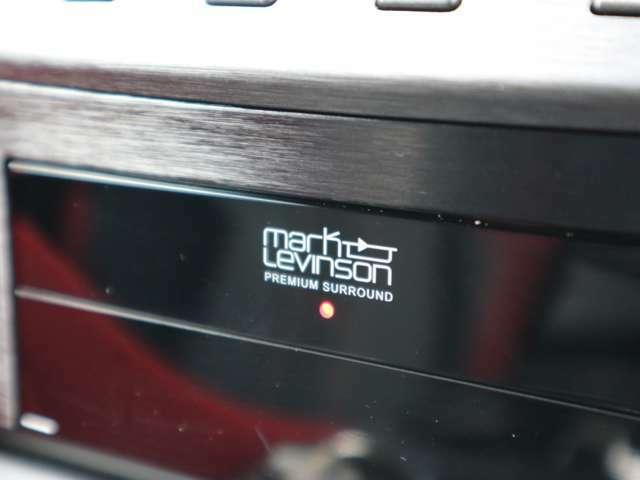 純正オプション!マークレビンソンオーディオ!新車時のみ注文できるオプションです!