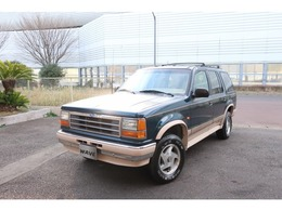 フォード エクスプローラー エディバウアー 4WD ワンオーナー・ディーラー記録簿・禁煙