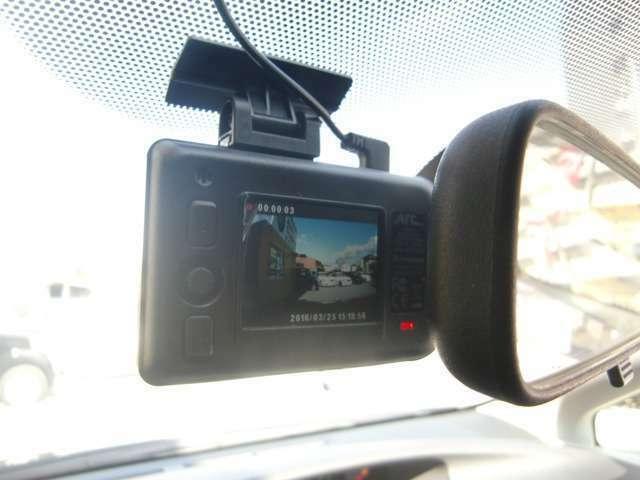 Aプラン画像:もしもの事故でもしっかり記録してくれる安心のドライブレコーダー!!300万画素で画像がキレイです!!