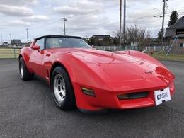 シボレー コルベット C3 V8 5700cc1981年モデル エーデルブロックキャブ・インマニ