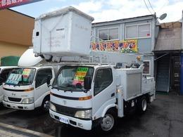 トヨタ ダイナ 5.3 高床 ディーゼル 高所作業車 14.6M アイチ製 SH-15A
