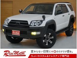 トヨタ ハイラックスサーフ 2.7 SSR-X 4WD 本州仕入/リフトアップ/WEDS16&新品夏