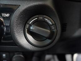 パートタイム4WDの為、悪路走破性もバッチリです!
