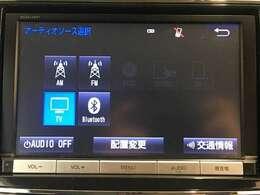 【純正メモリーナビ:NSZA-X64T】AM.FM/CD/DVD/フルセグTV/Bluetooth/SD