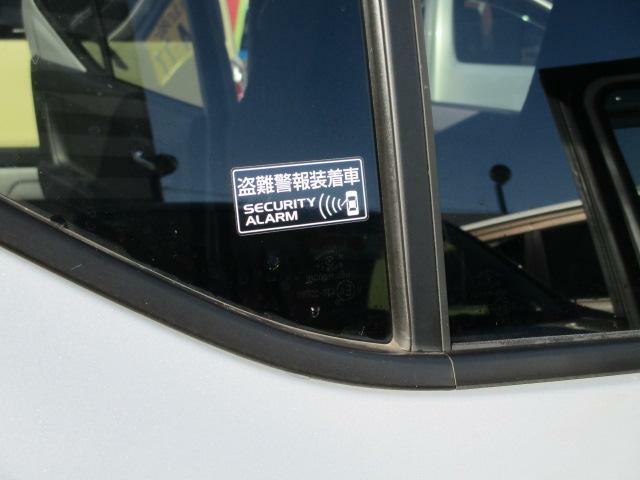 安心の盗難警報装置がついています。(^J^)
