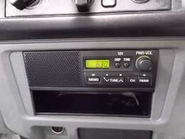 AMラジオチューナー付き
