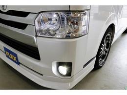 社外LEDスモール球&フォグランプ装着済み!夜道も明るく照らします!