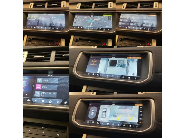 センターコンソールでオーディオ・カメラ車両の殆どがコントロールできます。