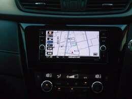 ナビゲーションはMM319D-Wです。地図検索はもちろん、音楽やテレビも楽しむことができます。