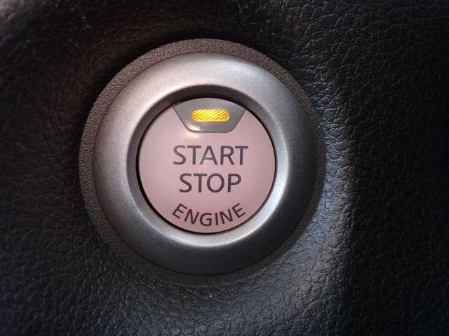 鍵をささずにワンプッシュでエンジンスタート◎