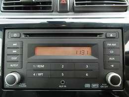 CDオーディオで音楽も聴けますね!