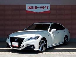 トヨタ クラウン ハイブリッド 2.5 RS メモリ-ナビ・スマ-トキ-・LED付き