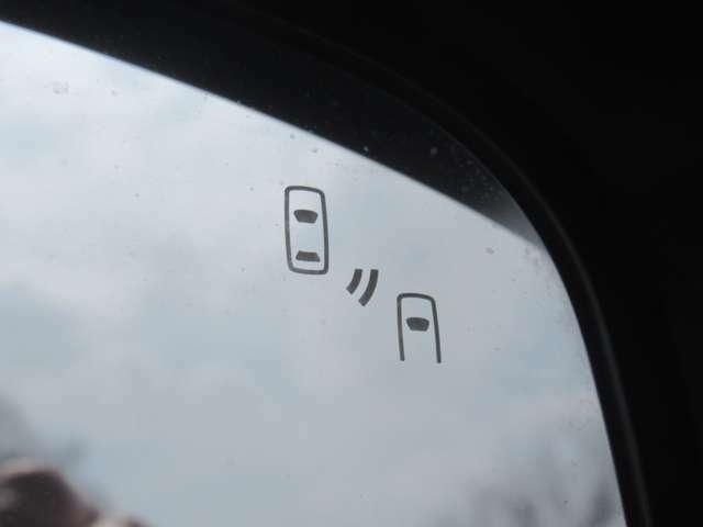 自車の後側方から接近する車両を検知してお知らせするリヤビークルディテク ション装着車です!