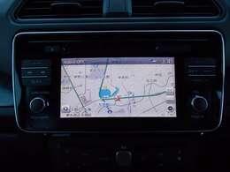 EV専用NissanConnectナビゲーション(7インチモニター)