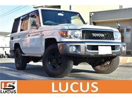 トヨタ ランドクルーザー70 4.0 4WD デフロック/背面タイヤ/TVナビ/Bカメラ