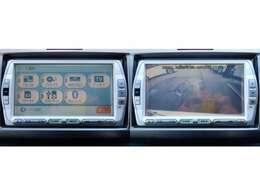 メモリーナビ 地デジ DVD再生 Bluetooth接続対応 バックカメラ 曇り無くキレイに映ります