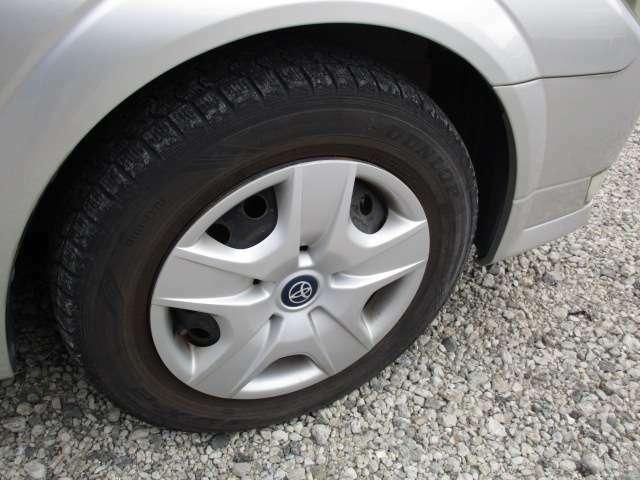 ご希望により新品タイヤでのご納車も可能です。