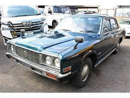 クラウン スーパーサルーン 昭和51年式の名車、スーパーサルーン入庫致しました! コラムAT装備の名車!走行、装備に問題はございません!
