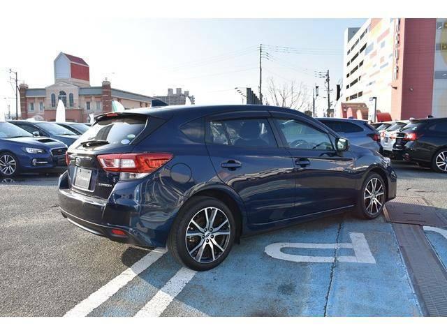 安心のスバル認定中古車アイサイト ご納車前点検整備&SUBARUあんしん保証付き