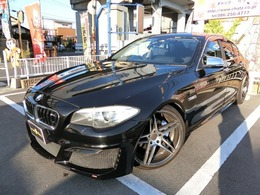 BMW 5シリーズ 528i ディーラー車 外エアロ外20AW車高調