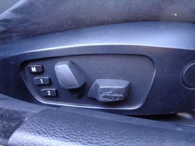 ★パワーシート装着車!・・・シートポジションが細かく取れます!メモリー機能付きなのもありがたいです^^