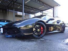 フェラーリ 488スパイダー F1 DCT 屋内保管 フロントリフティング