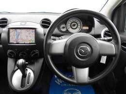 すっきりとしたハンドル周りのデザインで、運転もスムーズにしてもらえます。