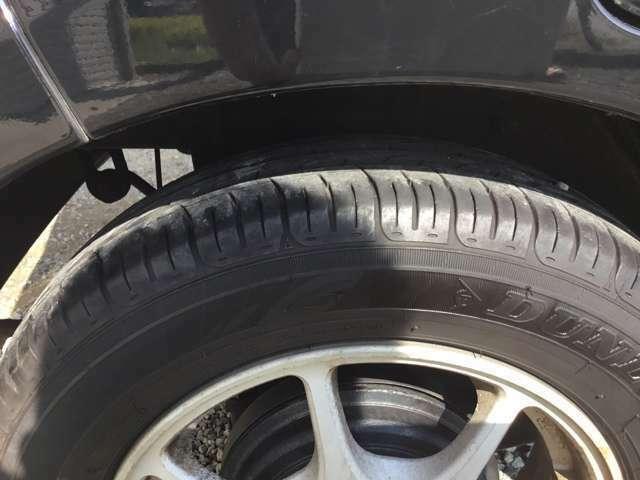 タイヤ溝 たっぷりです