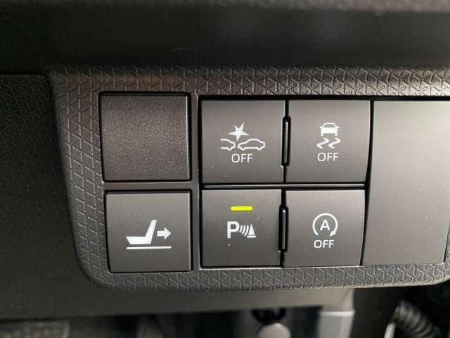 【次世代型スマートアシスト】衝突軽減ブレーキ機能・衝突警報機能・車線逸脱警報機能・誤発進抑制制御機能・オートハイビームと、多機能な安全装備がついております♪