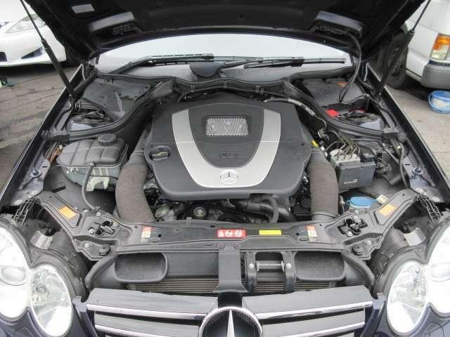 V6 3500ccエンジンです。