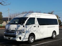 トヨタ ハイエースコミューター ディーゼルターボ 9人乗り ウェルキャブ 普通免許