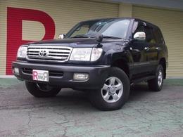 トヨタ ランドクルーザー100 4.2 VX ディーゼルターボ 4WD HDDナビ ETC 背面タイヤレス仕様