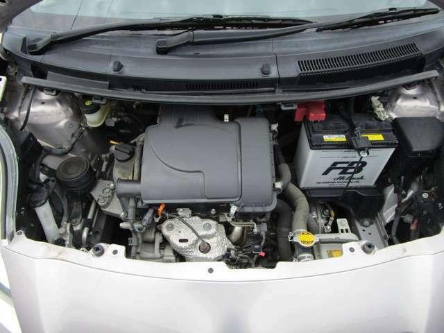 1L直列3気筒DOHCエンジン!