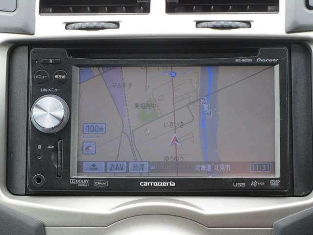 メモリーナビ!CD&DVD&TV(ワンセグ)&ラジオ使用できます。