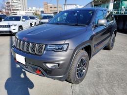 ジープ グランドチェロキー トレイルホーク 4WD ナビ・ETC・リアカメラ・新車保障継承