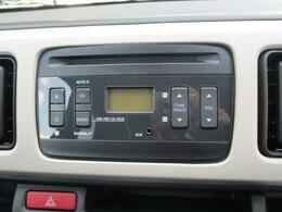 ラジオ付CDプレーヤーです。