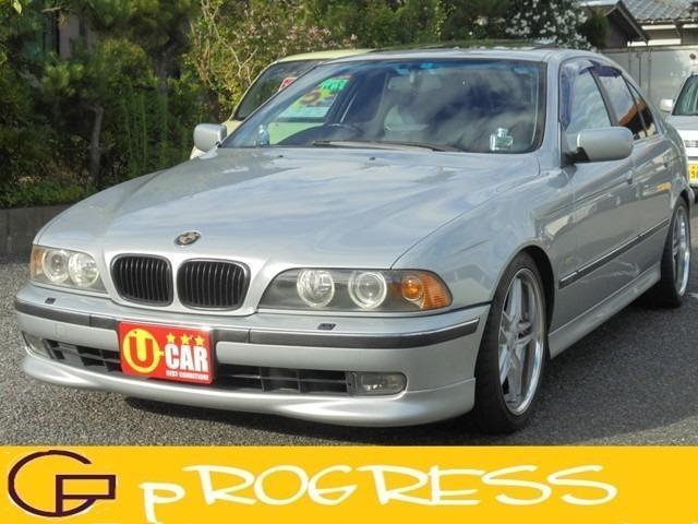 大人スタイル BMW E39 525I入荷しました!お問い合わせは無料通話0066-9711-831112もしくは025-234-6015 プログレスまでお気軽にお問い合わせ下さい!
