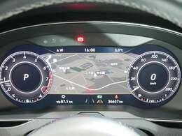 デジタルメータークラスター(Active Info Display)[12.3インチ大型ディスプレイ ☆関東最大級のAudi・VW専門店!豊富な専門知識・経験で納車後もサポートさせていただきます☆