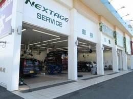 ☆サービスピット完備☆整備指定工場になっております。お車の点検、車検などお任せください