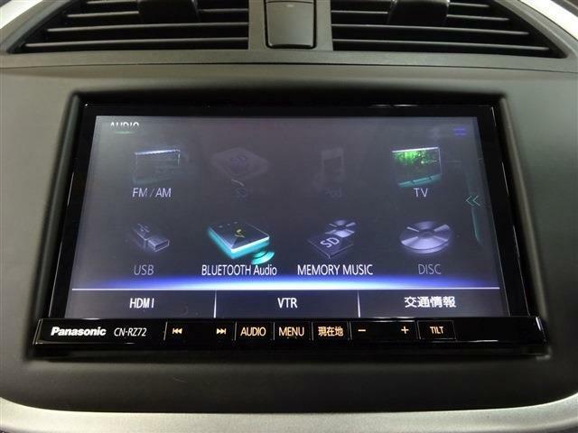 ■ 装備 7 ■ フルセグTV|DVD再生|Bluetooth音楽プレイヤー接続、ハンズフリーフォンなど対応